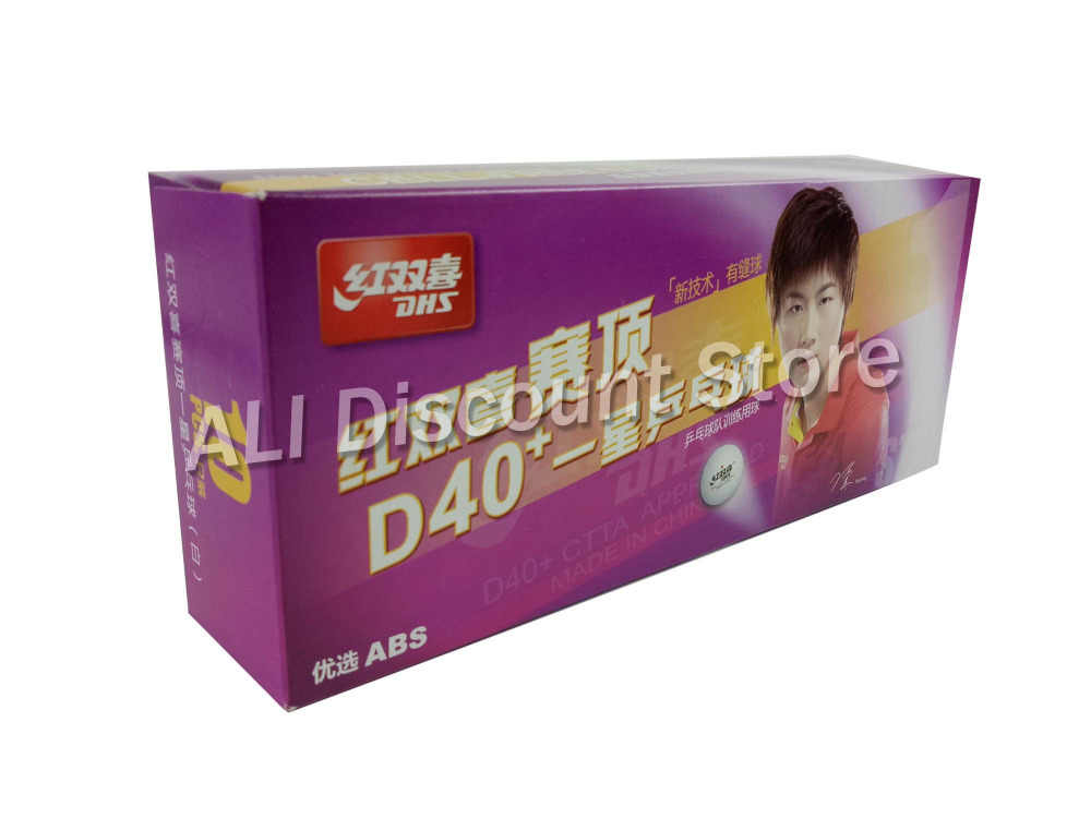30 PCS DHS 1-Star 1 Star D40+ White Table Tennis Balls For PingPong