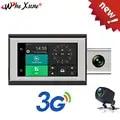 WHEXUNE 3G dash cam 4 inch Auto DVR mit Android GPS log Dual Objektiv 1080p dash kamera WIFI auto cam Video Kanzler drive recorder