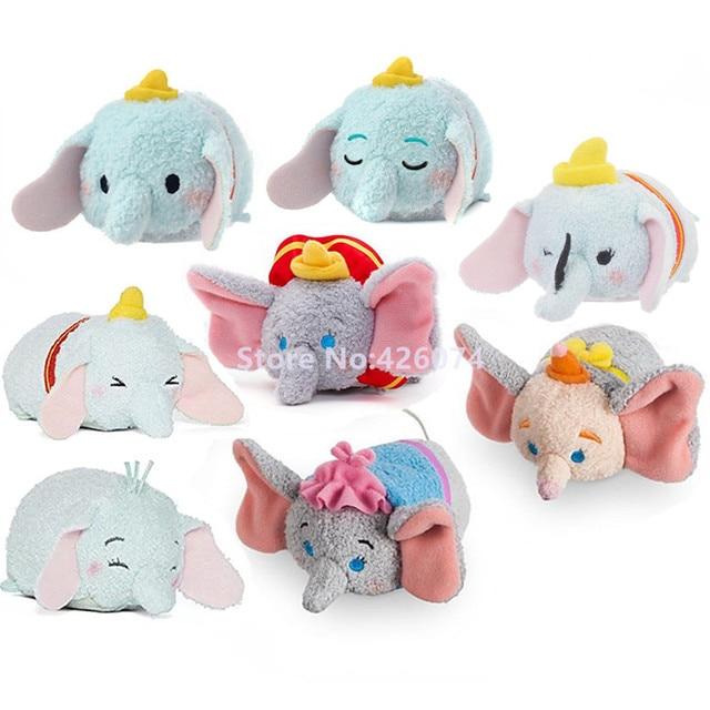 Nuevo Dumbo elefantes señora Jumbo Mini limpiador de Smartphone de felpa niños juguetes de peluche para regalos de niños