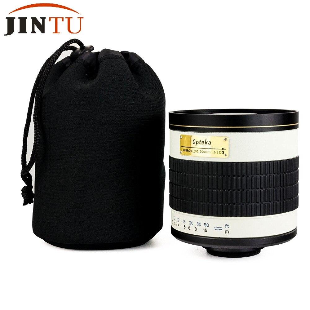 500mm f/6.3 MF Téléobjectif Lentille Miroir + 2x Téléconvertisseur = 1000mm Pour Canon EOS 1D S 5D 5DS 5DS 550D 600D 650D 700D 750D 760D 1000D