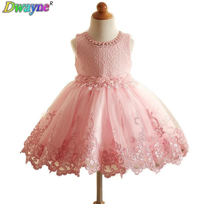 Prinses jurk voor bruiloft 2018 lente en zomer bloemenmeisje jurk - Kinderkleding - Foto 1