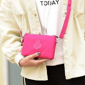 Image 3 - Women Messenger Bags Waterproof Nylon Handbag and Purse Female Shoulder Bag Ladies Crossbody Bags bolsa sac a main