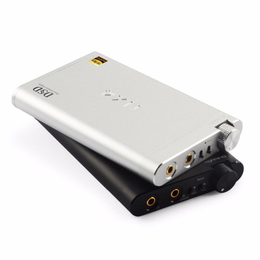 NEW TOPPING NX4 DSD DSD512 fever HiFi portable XMOS ES9038Q2M OPA2140 USB DAC decoder Headphone Amplifier