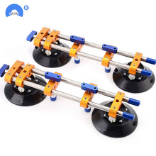 2pcs/lot seamless Stone Seam Setter Manual Rubber Vacuum leveling Setter for joint with 6