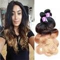 Queen Hair Brazilian Body Wave Sexay Hair Ombre Brazilian Virgin Hair Weave 3 Bundles For Sale Cheap Human Hair Extension