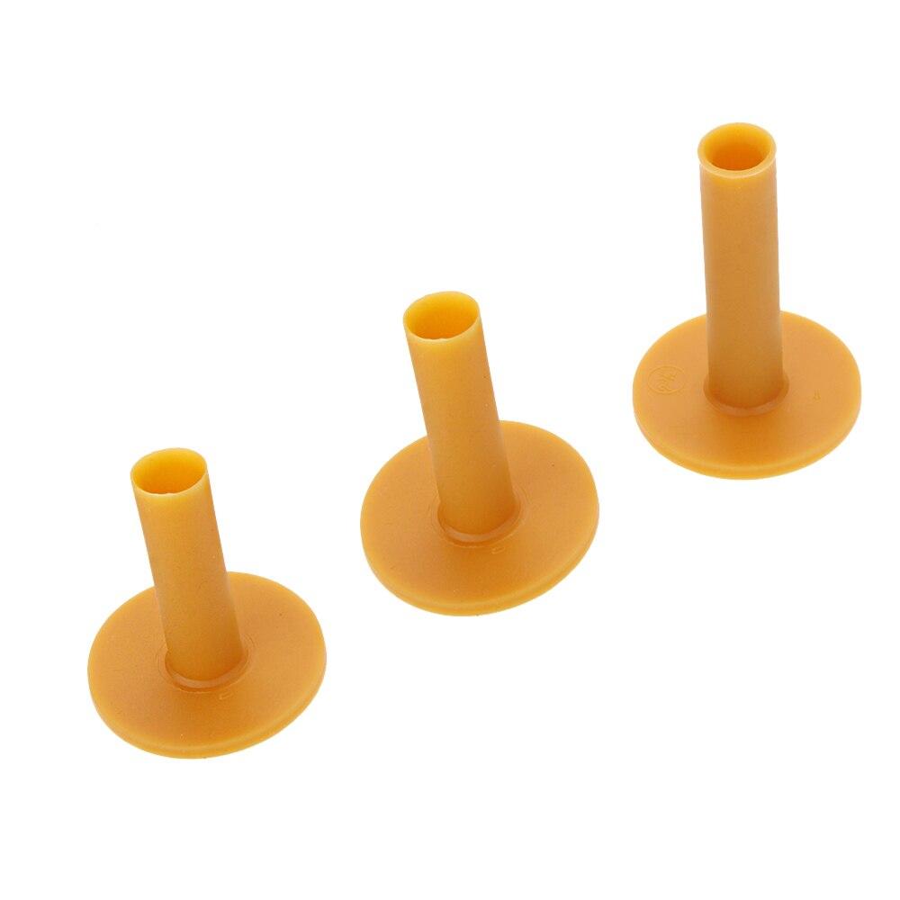 Image 2 - 3pcs Pack Durable Rubber Golf Tee Holder 60/70/80mm Training Practice Tee Mat Goft Ball Hole Holder Beginner Trainer Practice