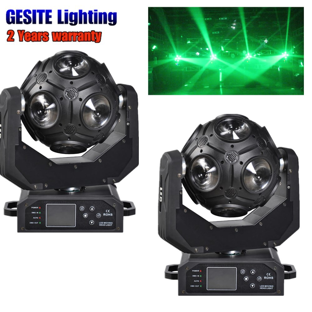 2pcs Lyre Led Matrix Moving Head Light 9x12w Beam Stage Light 4in1 Rgbw Dj Equipment For Disco Party Wedding Club Bar Superior Quality In