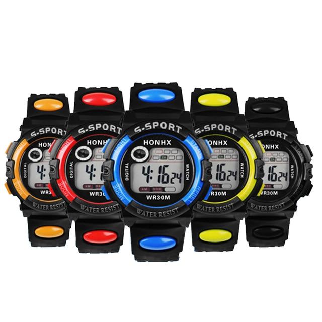 New Multifunction Man Digital Watch LED Quartz Alarm Date Sport Waterproof Watch Student Watch Clock
