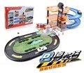 Бесплатная Доставка Парковка Орбиты Красочные Car Toys 4Car + 1 самолет Dunk Трек Роликовый Подарок Для Детей