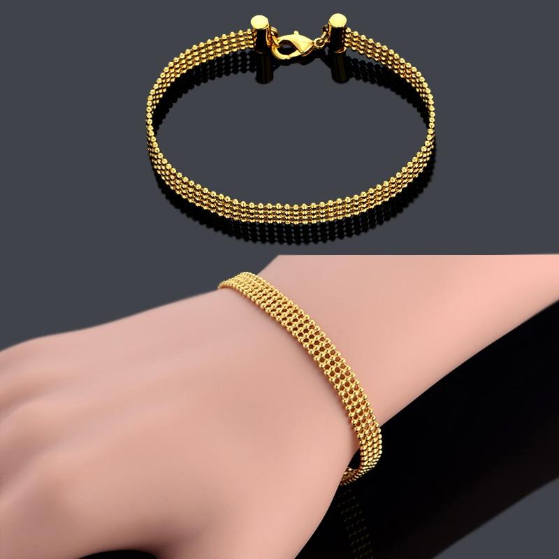 buy ball bead chain link bracelet femme. Black Bedroom Furniture Sets. Home Design Ideas