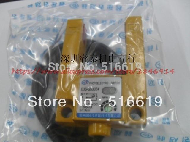 E3S GS30E4 U photoelectric sensors U 30 mm wide can replace E3S GS3E4 gm