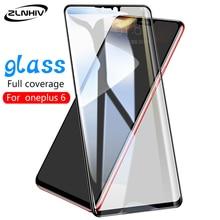 ZLNHIV cristal para oneplus 7 pro 6 6T 5 5T, película de vidrio templado para teléfono inteligente oneplus 6, protector de pantalla del teléfono