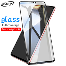 ZLNHIV glass for oneplus 7 pro 6 6T 5 5T protective film tempered glass smartphone for oneplus 6 on the phone screen protector