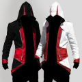 Cosplay Assassins Creed 3 Costume Dress Altair Ezio Kenway Connor Jacke Hoodie Student Sportswear Clothing Halloween Carnival