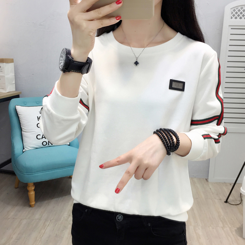 Shintimes Blusas Mujer de Moda 2018 Listrado Mulheres Tops E Blusas de Manga Longa Plus Size Mulheres Blusa Branca Camisa Chemise femme