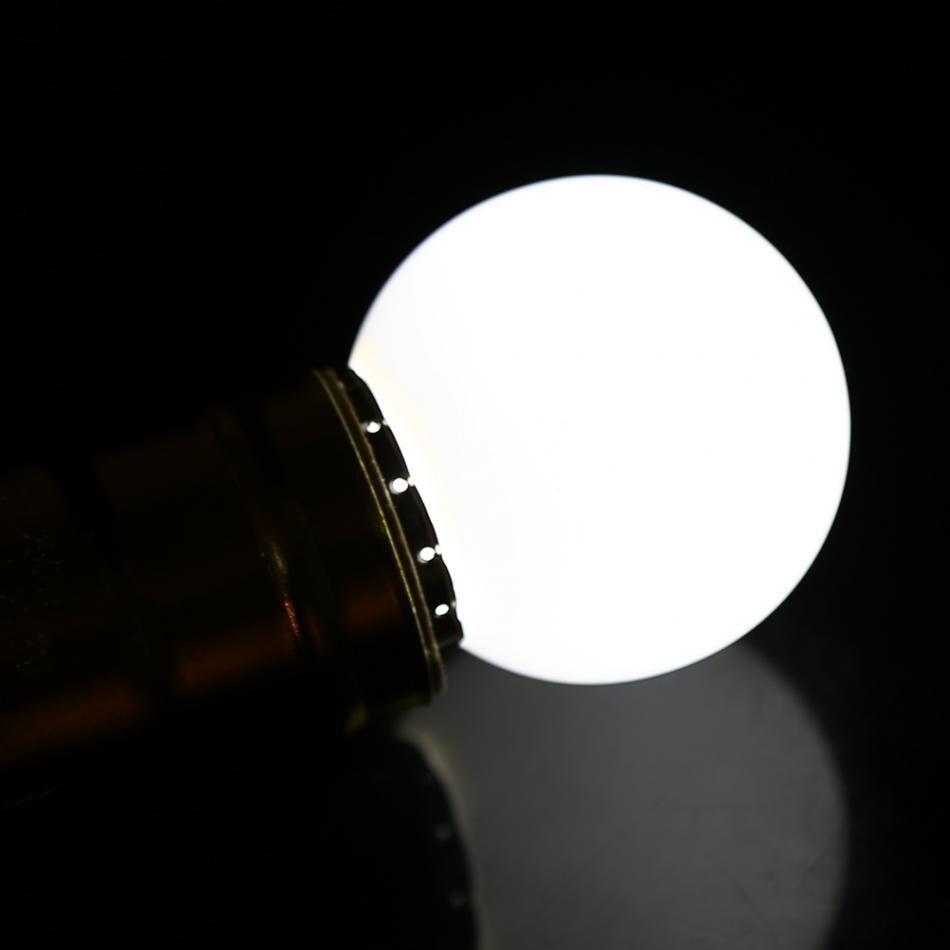 ᗖ1 Вт E27 Светодиодный лампочки многоцветный круглый ...