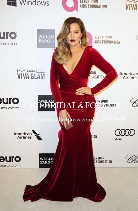 159.99 khloe-kardashian-burgundy-dress-2014-elton-john-oscar-party-01 (1)