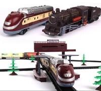Darmowa dostawa! 1/87 model railroading 9.4 Metrów elektryczne torowisko Railroad ciężarówka elektryczne pociągi zabawki dla dzieci prezent dla dzieci