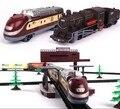 Frete grátis! 1/87 modelo railroading 9.4 metros elétrica trilho de trem elétrico toy trains for kids crianças caminhão da estrada de ferro presente