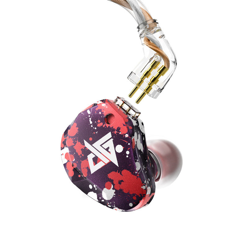 AUGLAMOUR RT 3 1DD 2BA Knowles Driver Hybrid In Ear Earphone HIFI DJ Earphone Earbuds With