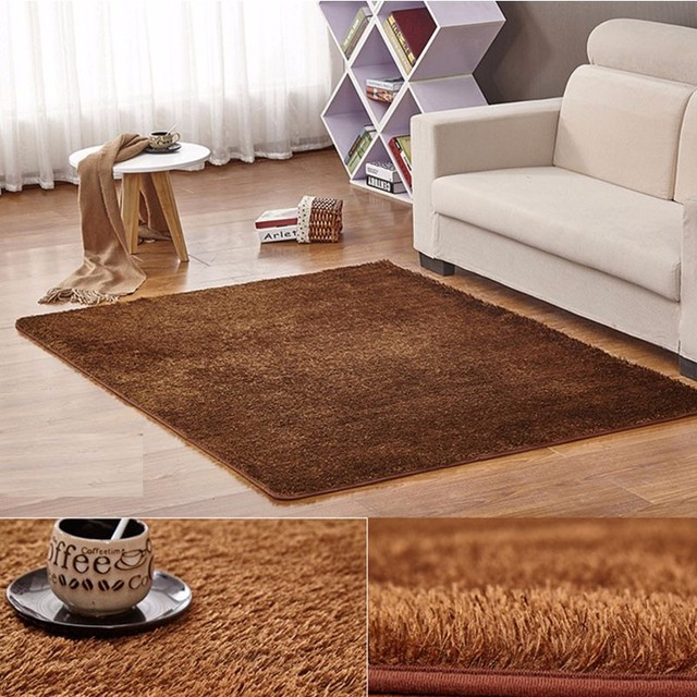 Oversize 200cm X 300cm Carpet Korea Silk Carpets Anti skid Plush ...