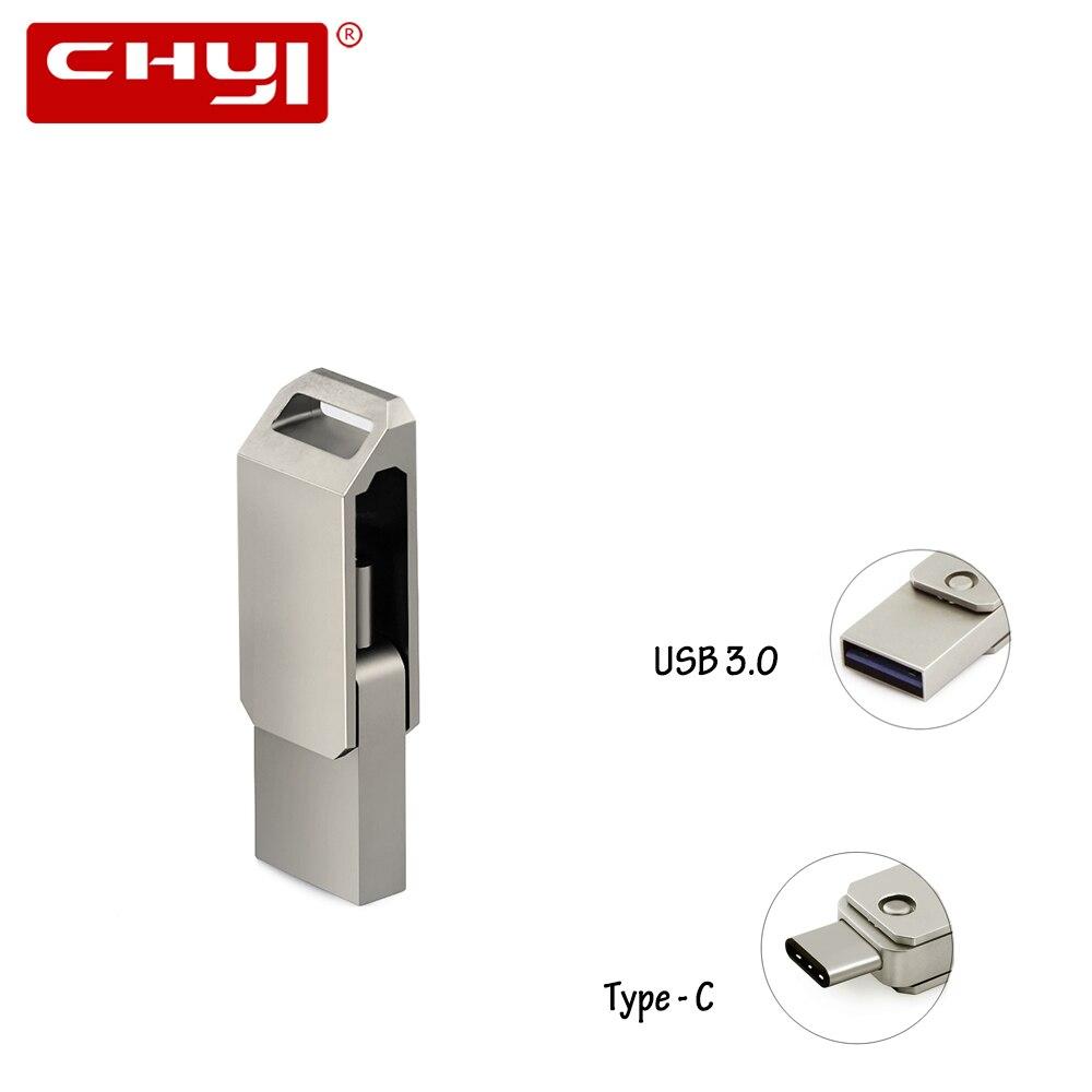 High Speed OTG Typ C USB 3.0-Stick 16/32/64 gb USB Memory Stick Mini Stift Stick gadget Doppel Stecker für PC Tablet Smartphone
