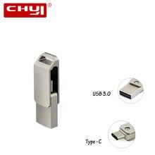 High Speed OTG Type C USB 3.0 Flash Drive 16/32/64GB USB Memory Stick Mini Pen Drive Gadget Double Plug for PC Tablet Smartphone