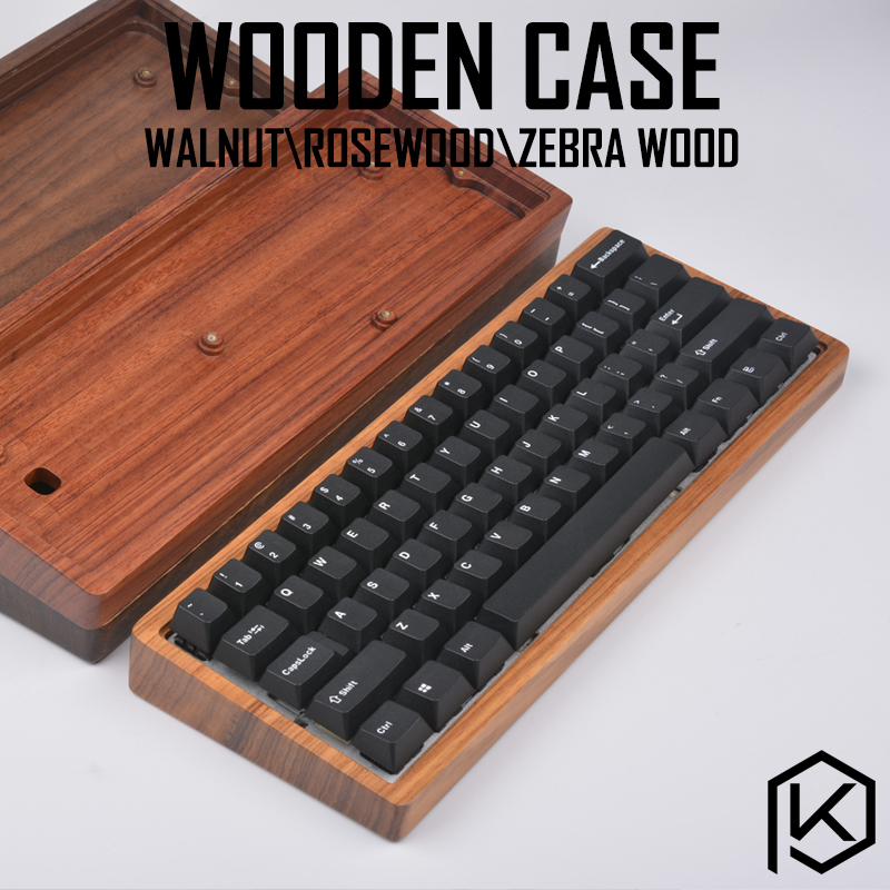 wooden case wood case walnut rosewood zebra wood with wood wrist high quality free shipping for