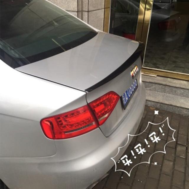 W Ultra A4 B8 tylne Trunk Boot Spoiler skrzydło nadające się do Audi A4 B8 SE57