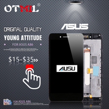 5.0Original Display For ASUS PadFone A86 LCD Touch Screen with Frame Digitizer Assembly For ASUS zenfone A86 LCD Replacement #1 цена