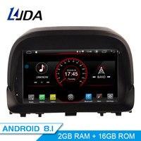 LJDA Android 8.1 Car DVD Player For Opel Mokka GPS Navigation 2 Din Car Radio Multimedia WIFI Stereo Quad Core 2+16 Headunit RDS