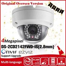 HIKVISION DS-2CD2142FWD-IS(2.8mm) Original English version IP camera 4MP IPC Security Camera POE H265 CCTV camera ONVIF P2P HIK