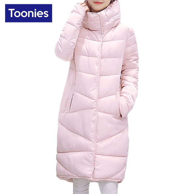 Casual Warm Winter Jacket Woman Long Style Women's Coats Parka Woman Down Jackets Solid Doudoune Femme Chaquetas Invierno Mujer