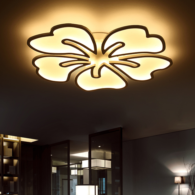 Surface mounted modern led ceiling chandelier lights lamp - Plafones de techo led ...