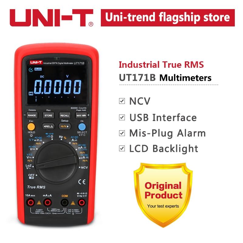 UNI-T UT171B Industrial True RMS digitaalsete multimeetrite - Mõõtevahendid - Foto 6