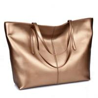 Vintage 100 Genuine Leather Women S HandBags Elegant Luxury Designer Cow Leather Handbags Ladies Shoulder Bag