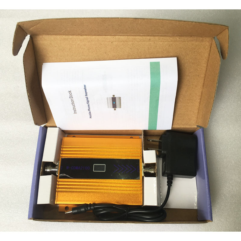 3G WCDMA 2100MHz Mobile Phone Cell Phone signal Booster Repeater only ,gain 60dbi LCD display , Antenna not included