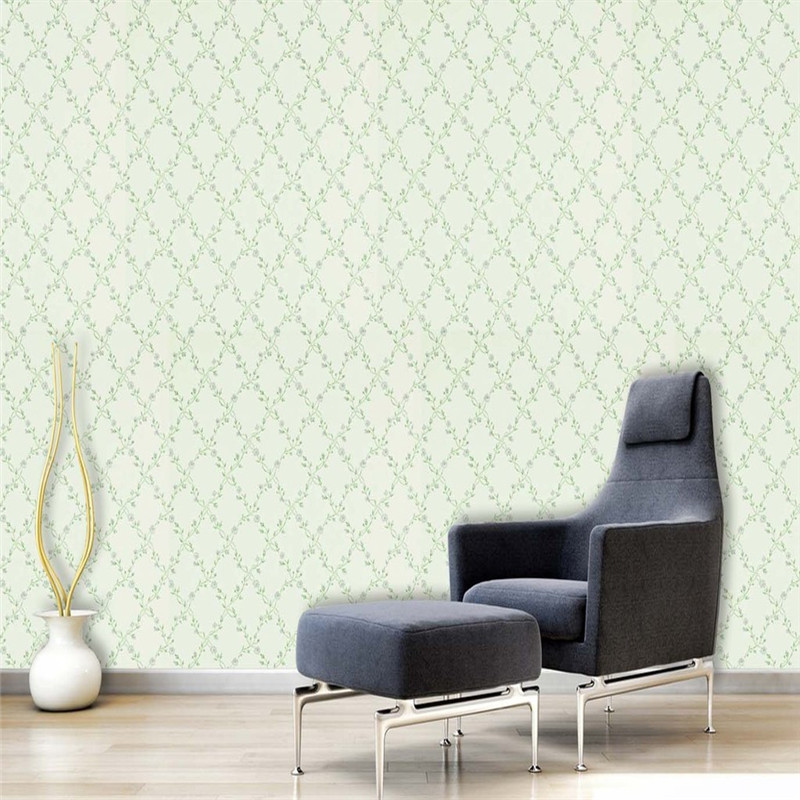 European Style Wallpaper Custom Solid Wall Mural Green Leaves Flowers Pattern Wall Papers for Living Room Bedroom Background custom 3d mural wallpaper european style stereoscopic relief golden flowers living room sofa bedroom tv background wall display