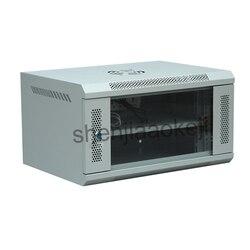 6U Netwerk Kabinet Muur Gemonteerde Kast Monitoring Zwak-Box Computer Kast 220V/110V 1 Pc