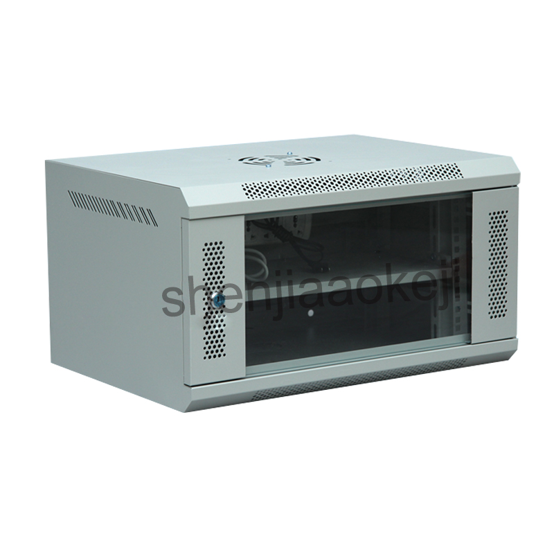 6U Network Cabinet Wall-mounted Cabinet Monitoring Weak-box Computer Cabinet 220V/110V 1pc