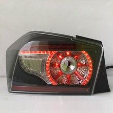 Светодиодный сзади свет для Honda City 2008 до 2011 и 2012 по год СВЕТОДИОДНЫЙ Фонарь Ясно Черно дым Цвет