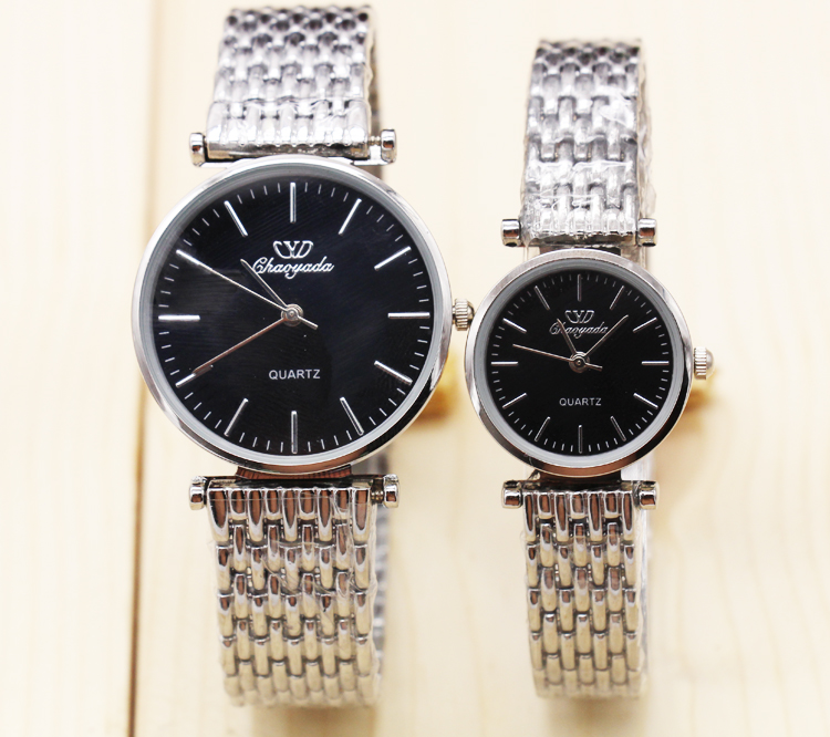 High Quality MEN Women Watches Stainless Steel Couples Lovers Watch Ladies Pair Wristwatch Men Watches