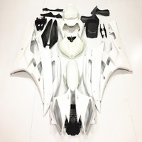 For Yamaha YZF R6 06 07 Unpainted Injection Fairing Bodywork Kit ABS Plastic White Motorcycle Accessories