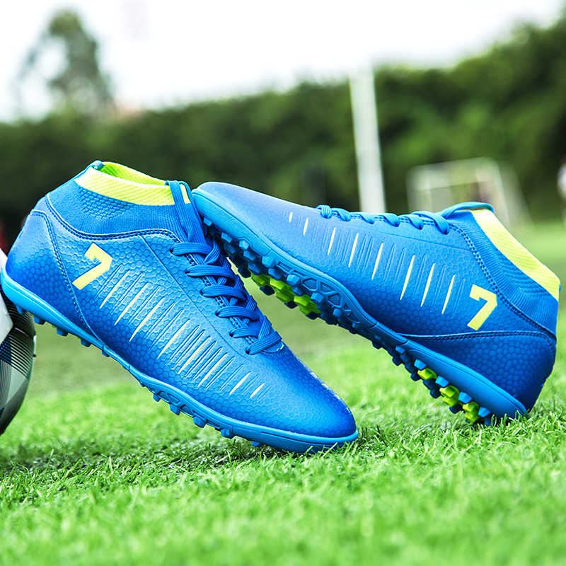 f3ab63ee747 ... 2018 Men Football Boots Superfly Original Messi Soccer Cleats Academy  TF Hard Court Trainers Soccer Shoes ...