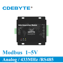 Get more info on the Analog Acquisition Transceiver Module 4 Channel 1-5V Modbus RTU E820-AIO(UI-485-4-5) Long Range RF Transmitter and Receiver