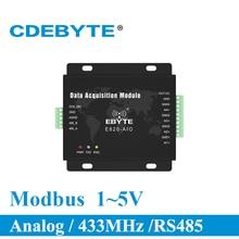 Transceiver Módulo de Aquisição analógica 4 Canal E820 AIO 1 5 v Modbus RTU (UI 485 4 5) de longo Alcance do Transmissor e Receptor de RF
