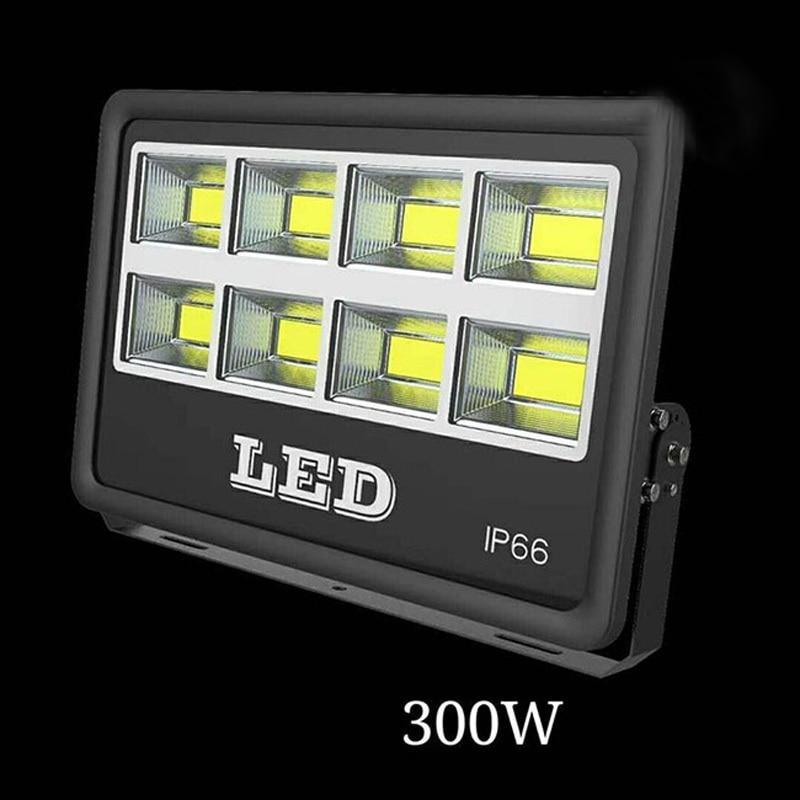 цена на 4PCS 50W 100W 150W 200W 300W 400W 500W AC85-265V Waterproof LED Floodlight COB Led Spotlight For Outdoor Garden Lighting