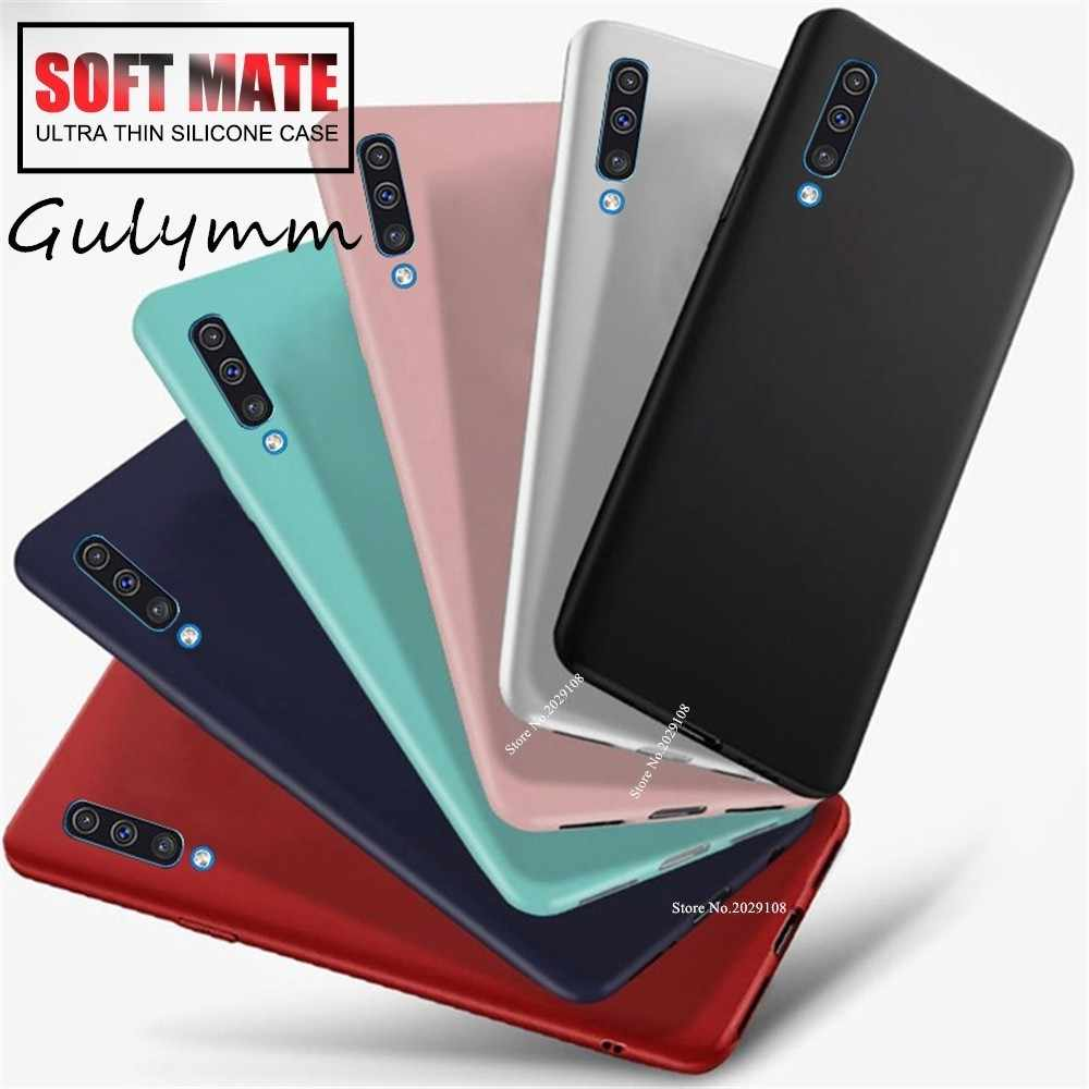 For Samsung Galaxy S 10 J 4 6 Plus Case Soft Silicone Candy Color Slim TPU Back Cover For 2019 A 10 20 30 40 50 60 70 M 20 Cover