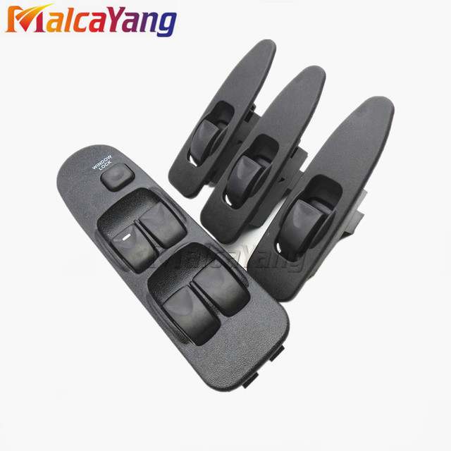 For Mitsubishi Window Switch Front Left Right For Mitsubishi Carisma 5 Buttons MR740599 MR792851 Sets For Mitsubishi Space Star
