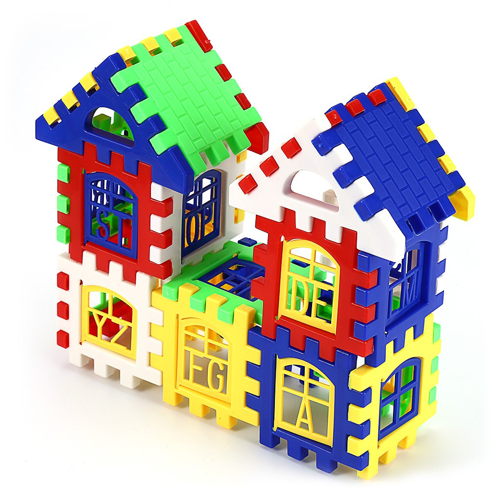 children diy house building blocks construction brain